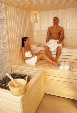 Spa a wellness etiketa - sauna